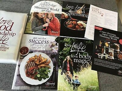 Slimming World Starter Pack B/New + New Book, Menu's And Recipes