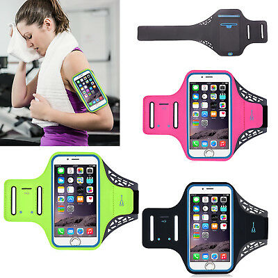 Sport Running Jogging Gym Arm Band Bag Armband Cellphone Case Touch Screen Pouch