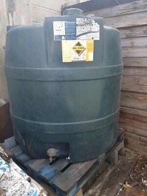 Kingspan heating oil tank green 1300v