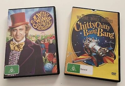 Willy Wonka & The Chocolate Factory & Chitty Chitty Bang Bang Dvd