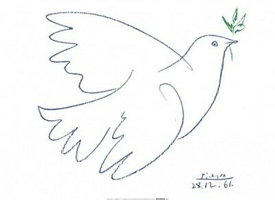 Pablo Picasso - Dove Of Peace Poster Art Print (32x24inches) #59291
