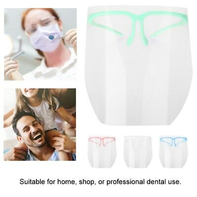 Dental Face Mask Visor Protective Dental Face Shield Detachable Face Shield Set