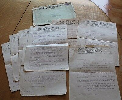10 anciennes lettres itineraire michelin