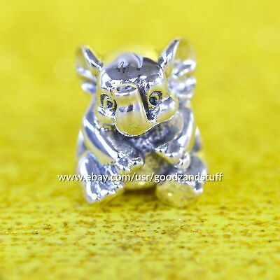 Lucky Elephant Charm 791902 Authentic Pandora Sterling Silver Bead