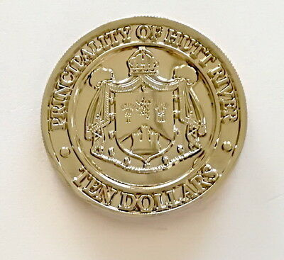 """Principality of Hutt River - """"Sovereign's Arms"""" Coin. - **NEW COIN ISSUE**"""