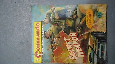 commando war stories in pictures no 42 issued 1962