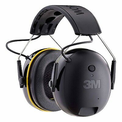Hearing Protector 3M Worktunes Muff Headset HI-FI Sound Ear Connect Bluetooth