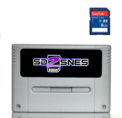 SD2SNES Super Nintendo + 8gb sd card - SNES Famicom Super Nes