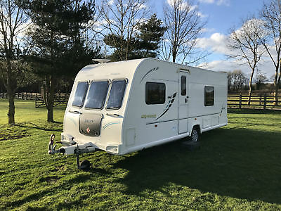 10 Bailey Olympus 534 Caravan 4 Berth