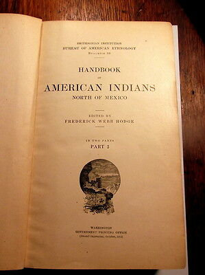 Handbook of American Indians North of Mexico Part 2 1912