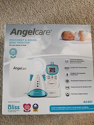 BRAND NEW Angelcare AC401 Movement and Sound Baby Monitor