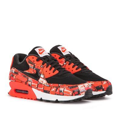 NIKE AIR MAX 90 Print (Schwarz Grau) EUR 40 LIMITED EDITION