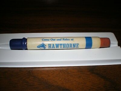 Come Out & Relax At Hawthorne 1950 Fall Meeting Horse Racing Bullet Pencil