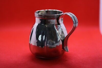 solid silver cream jug, hallmarked London 1932. total weight approx 80.2