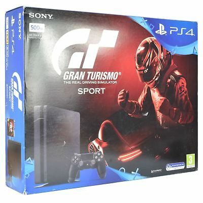 Sony PS4 Slim 500GB Gran Turismo Sport Bundle Brand New Playstation Console UK