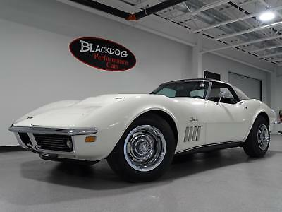 1969 Corvette L88 1969 Chevrolet Corvette L88 6,456 Miles Can-Am White  L88 427 CID V8 Manual