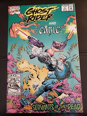 Ghost Rider and Cable: Servants of the Dead #[nn] (Sep 1992, Marvel)