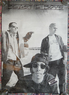 Early Beastie Boys Poster (1980s) [24x36]
