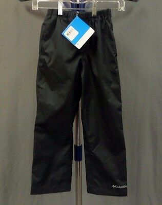 NWT Youth Columbia Trail Adventure Rain Pant - Waterproof / Breathable Color: Bl