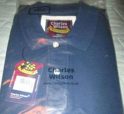Charles Wilson mens Polo Shirt (M)  New in sealed bag