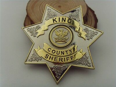The Walking Dead Sheriff Badge Rick Grimes Inspired Cowboy Police Ranger