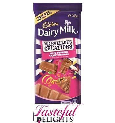 Cadbury Marvellous Creation Jelly Popping Candy 205g x 16