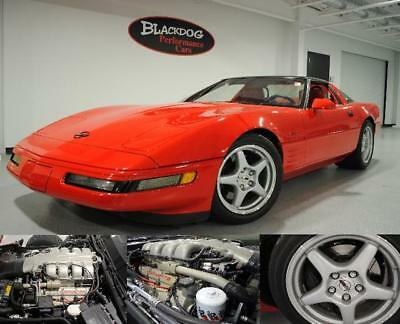1993 Corvette ZR-1 1993 Chevrolet Corvette ZR-1 25,524 Miles Bright Red  LT5 415 CID Manual