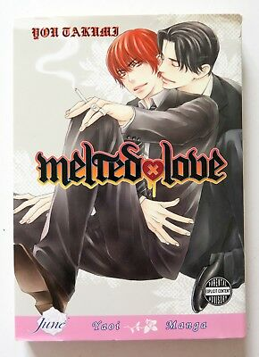 Melted Love You Takumi Manga Novel Anime Comic Book