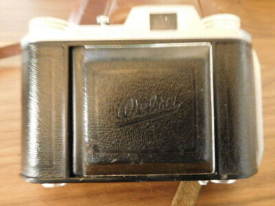 Vintage Welta Welti Folding Camera With Leather Carrying Case