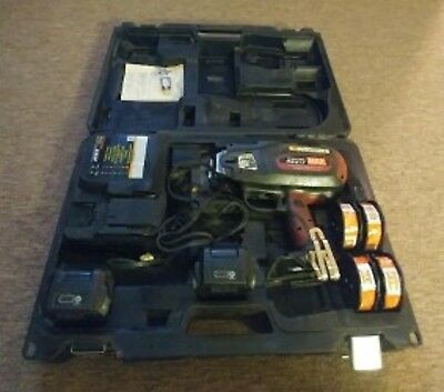 Max rebar tie tool gun case battery charger