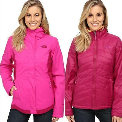 The North Face para Dama Mossbud Remolino Triclimate 3IN1 Chaqueta Nieve