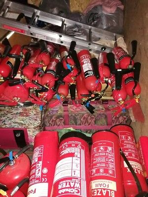 co2 fire extinguisher bulk items out of date.