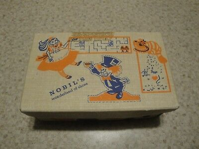 A NOBIL'S VINTAGE WONDERLAND OF SHOES BOX (box only)
