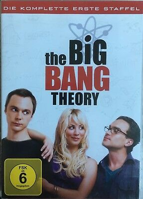 DVD The Big Bang Theory komplette 1. Staffel  3 DVDs Top Kult Comedy Serie