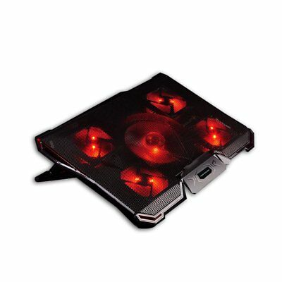 Tree New Bee 14-17 Inch Laptops with Five Stong Fans Laptop Cooling Pad