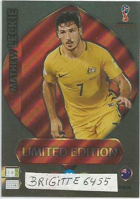 Panini Adrenalyn XL World Cup Russia 2018 Limited  Edition Mathew Leckie
