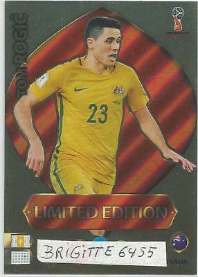 Panini Adrenalyn XL World Cup Russia 2018 Limited  Edition Tom Rogic
