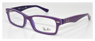 28b58f2f3cb New Authentic Ray Ban Eyeglasses Kids Ry1530 3589 Violet On Violet Transp 48 -16