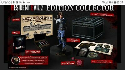 Pre commande Resident Evil 2 Remake - Édition Collector - PS4 . EU /PAL.