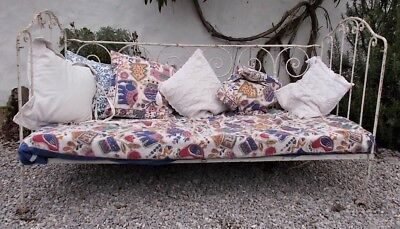 Antique daybed,french iron cot , child's bed,