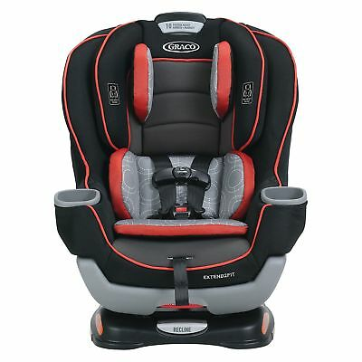 Graco 1991894 Extend2Fit Convertible Car Seat, Solar, New open box