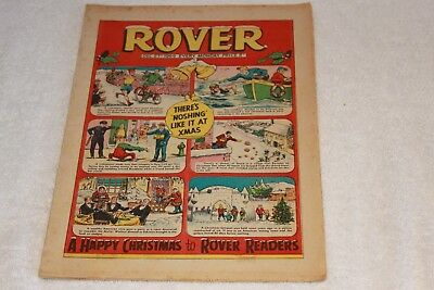 The  Rover  Comic...xmas  Issue  Dec  27..1969...strong  Spine...nice  +  Clean.