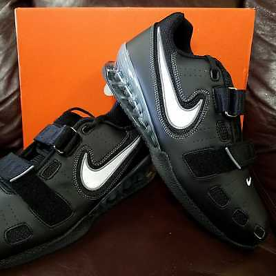 online store 82b56 816a4 Nike Romaleos 2 Mens Weightlifting Shoes Black Grey White 010