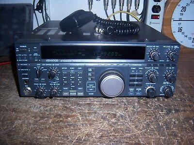 Kenwood TS-850SAT HF Transceiver - Very Nice Condition - tested and working