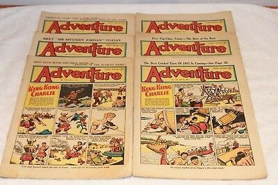 6  Adventure  Comics....1951.... Lots  More  Today / This  Week..lot 1