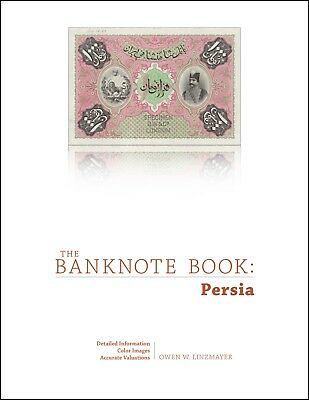 Persia chapter from best catalog of world notes, The Banknote Book