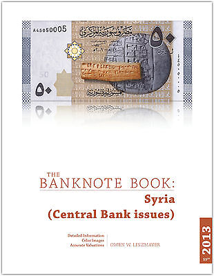 Syria chapter from new catalog of world notes, The Banknote Book