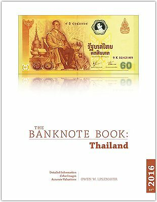 Thailand chapter from best catalog of world notes, The Banknote Book