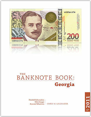 Georgia chapter from new catalog of world notes, The Banknote Book