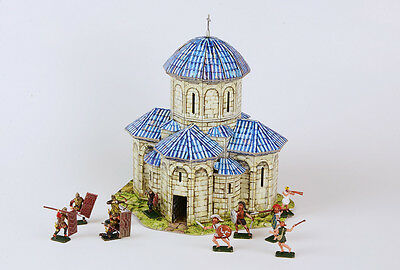 Antique and Medieval Terrain for Wargames - Kvetera Church  (Umbum 323)